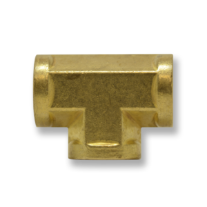 BBFTR Series Brass Tee Connector