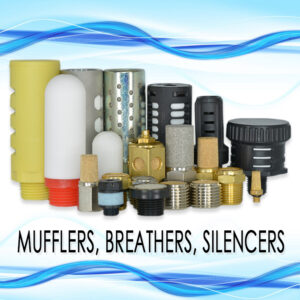 Mufflers, Breathers, and Silencers