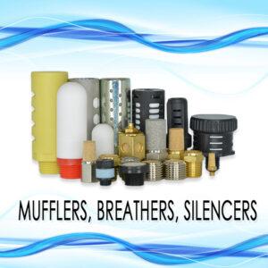 Mufflers, Breathers, Silencers