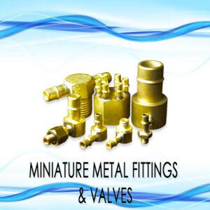 Miniature Metal Fittings & Valves